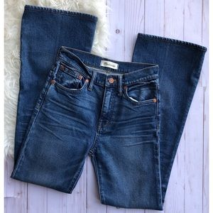 Madewell Flea Market Flare Jeans size 24